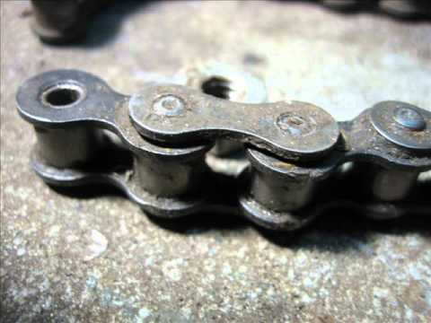 Roller Chain Assembly Without A Breaker Tool DIY
