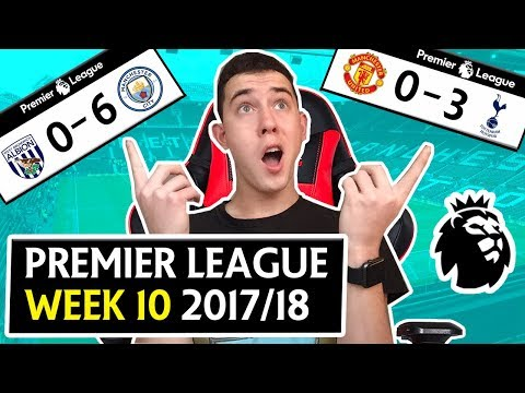 PREMIER LEAGUE WEEK 10 SCORE PREDICTIONS & GOALS - MANCHESTER UNITED 0-3 TOTTENHAM !