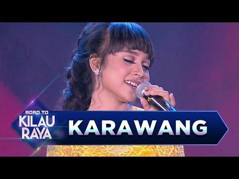 Mantap Jiwa! Tasya Rosmala ft Cak Sodiq Mengguncang Karawang [DITINGGAL RABI] - RTKR (18/3)