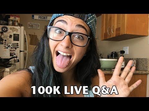 100k Celebration | LIVE Q&A