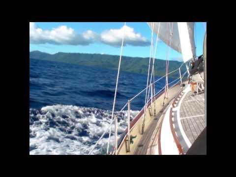 Hans Christian Sailing in Vanuatu.wmv