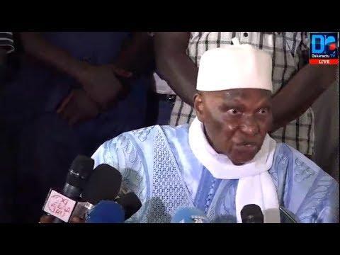 [ REPLAY] Revivez sur Dakaractu la conférence de presse  de Abdoulaye Wade à Fann