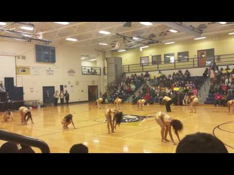 Varina high school Dance Team 12/2/2016