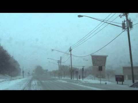 Heavy Snow Storm Rochester NY