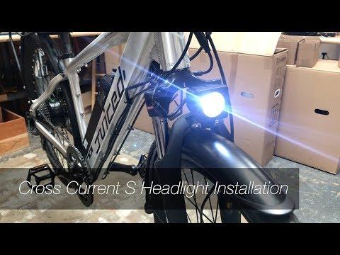 CrossCurrent S - Headlight Install Process