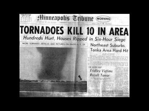 1965 Twin Cities Tornado Outbreak (WCCO AM 830 Coverage) Pt. 2