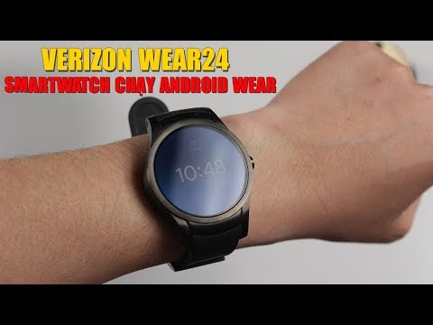 Mở hộp trên tay nhanh Smartwatch chạy Android Wear giá siêu rẻ: VERIZON WEAR 24