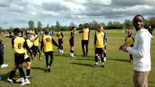 thurrock tigers winning the leauge inti div 2 here we come