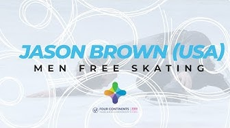 Jason Brown (USA) | Men Free Skating | ISU Four Continents Figure Skating | #4ContsFigure