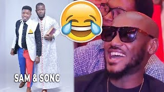 SAM amp SONG CRACKED UP 2BABA E - MONEY AY WITH CRAZY JOKES
