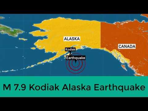 2nd Largest Earthquake/Real Fact of M7.9 Alaska Earthquake 2018