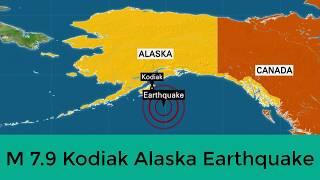 2nd Largest Earthquake/Real Fact of M7.9 Alaska Earthquake 2018 thumbnail
