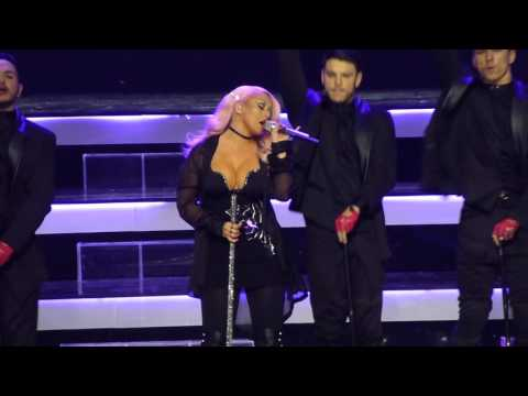 Christina Aguilera  Aint No Other Man 07122016, Kremlin Palace, Moscow, Russia