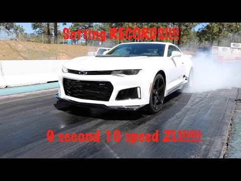 2 Records In 1 Day!!!! Worlds first 10speed zl1 in the 10s and 9s