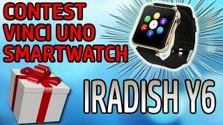 [CONTEST TERMINATO] Vinci uno SmartWatch iRadish Y6 con MiTiKotec e KrisTech