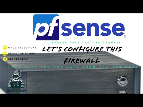 How to setup and configure pfSense firewall/router on a mini PC - 2019
