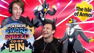THE FINALE!! - Let's Play Pokémon Sword \u0026 Shield Isle of Armor Gameplay Walkthrough CO-OP EP 06