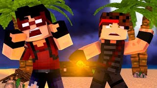 MYSTERIOUS ISLAND | Minecraft Stranded - Roleplay SMP (Episode 1)