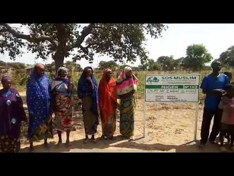 Inauguration du Puits H13 au Niger numéro 51 (Puits à 790€)
