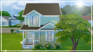 FAMILY STARTER HOME // The Sims 4: Speed Build