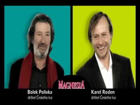 Magnesia: Karel Roden & Bolek Polívka reklama 3