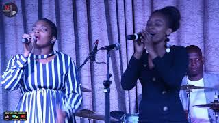 Buhle From Imbewu And Her Twin Singing On Worship Night | Imbewu 5 May April 2020