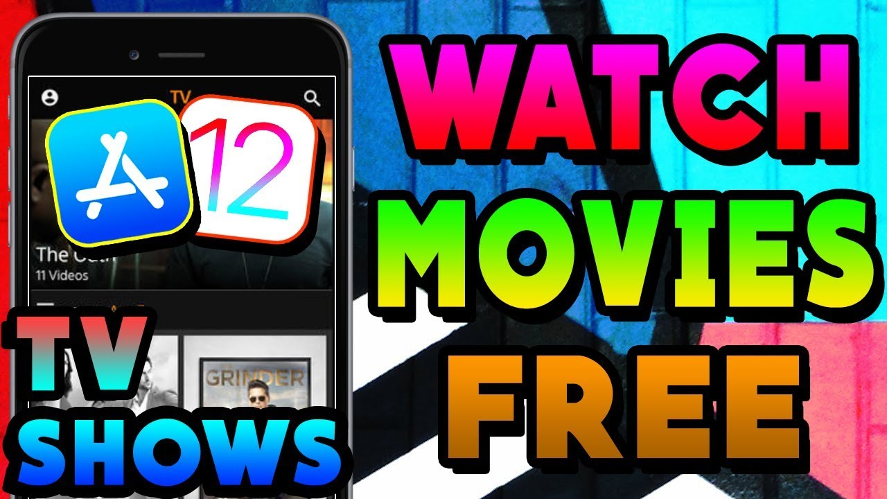 NEW How To Watch Movies & TV Shows FREE On APPSTORE iOS 12 /11 NO Jailbreak  iPhone iPad iPod [2019]