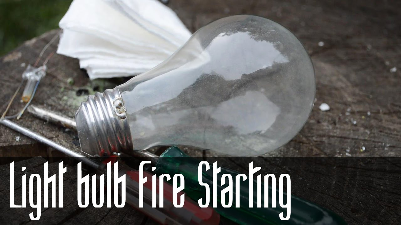 Can Light Bulb Start Fire