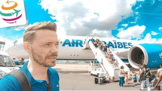 Europa Langstrecke! Air Caraibes Business Class A350 | YourTravel.TV