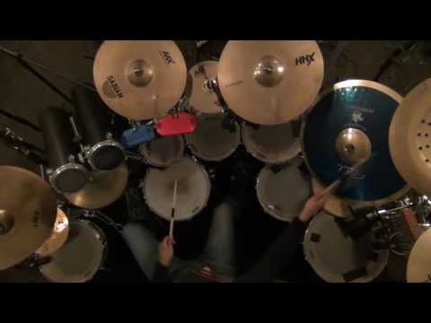 Drum Set Cover of Kit Kat Jam from the Dave Matthews Band   12 27 16