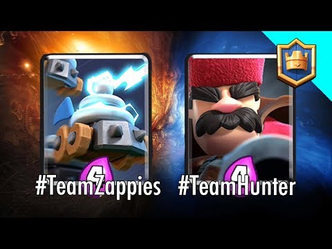 KARMA GOT ME! Hunter - Zappies Challenge! Which Team are you? - Clash Royale