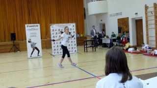 BUNNIES-JUMPERS Седаева Александра - 3 место общий зачет среди сеньоров скипинг Jump Rope