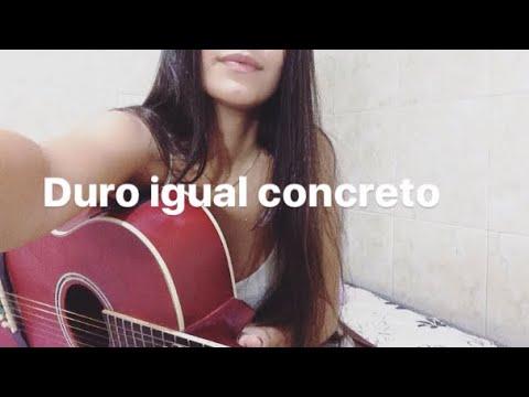 1kilo - Duro Igual Concreto (Cover Isabella Sthephany)