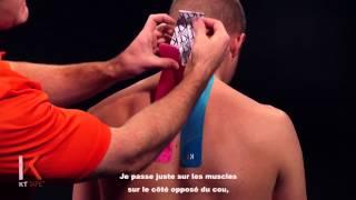Douleur cou et nuque - KT TAPE France (Neck Pain)