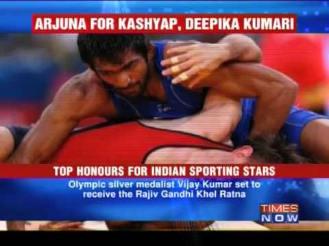 Top honours for Indian sporting stars