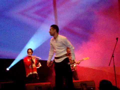Marcel Siahaan feat Pandji at Java Jazz 2011