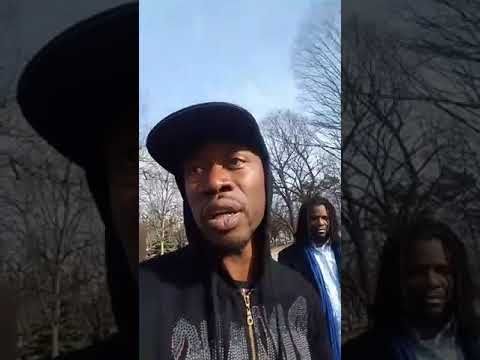 Brother Polight teaches history to the Youth in Brooklyn, New York at Lincoln Terrace Park