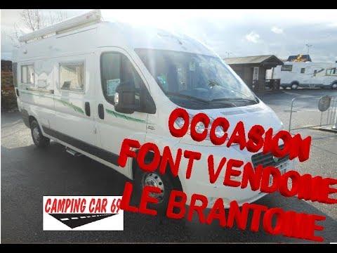 Camping Car Occasion Cyril Et Hedi Fourgon Font Vendome Le Brantome