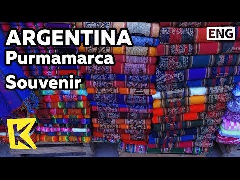 【K】Argentina Travel-Purmamarca[아르헨티나 여행-푸르마마르카]원주민 기념품 가게/Souvenir/Shop/Doll/Handmade/Lama/Fur/Indio