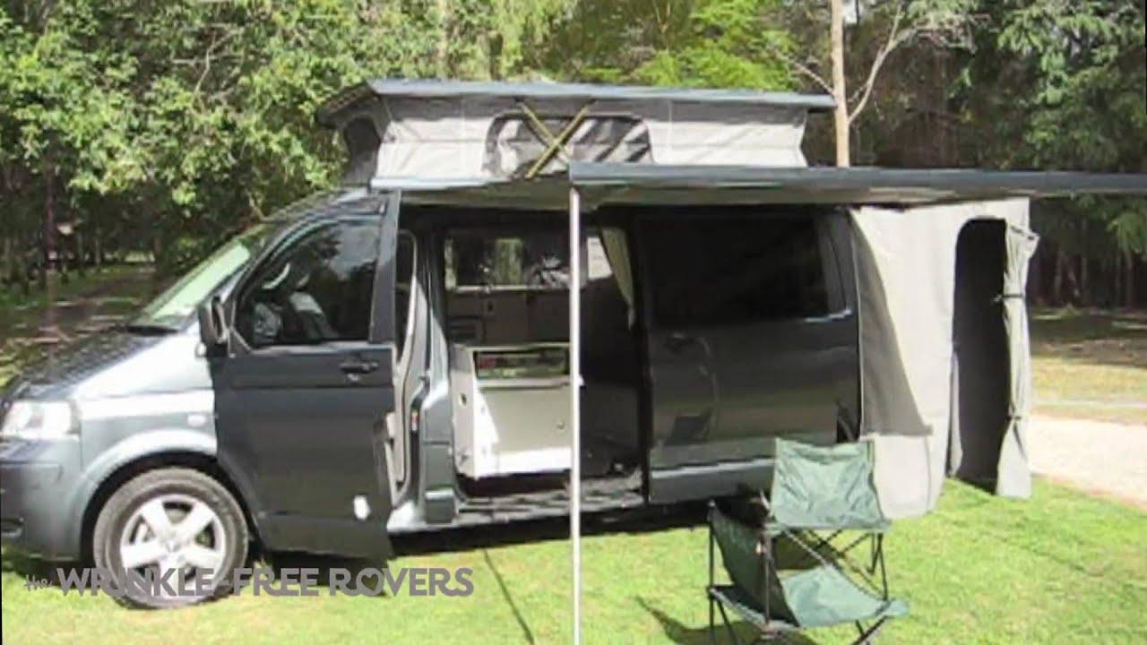 VW T5 Transporter Campervan - YouTube