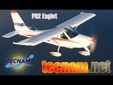 P92 Eaglet, TECNAM Aircraft's P 92 Eaglet light sport aircraft.