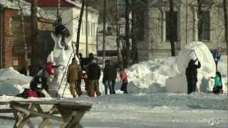 Снеговик 2013  г.Каргополь(, 2013-03-20T04:50:35.000Z)