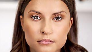 Как сделать легкий дневной макияж с помощью бронзатора.  Красивый естественный макияж.(Как сделать легкий дневной макияж с помощью бронзатора. Красивый естественный макияж. http://www.youtube.com/user/LamodaruT..., 2015-11-19T20:45:06.000Z)