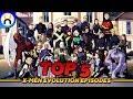 Top 5 Episodes Of X-Men Evolution