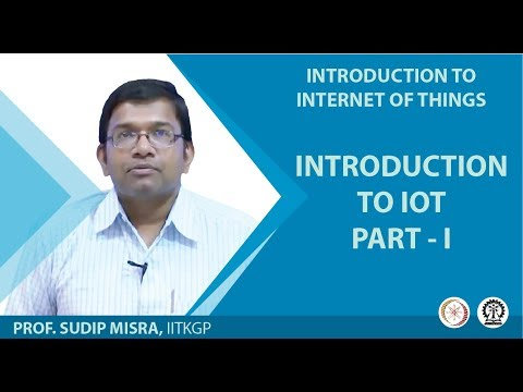 INTRODUCTION TO IOT- PART-I