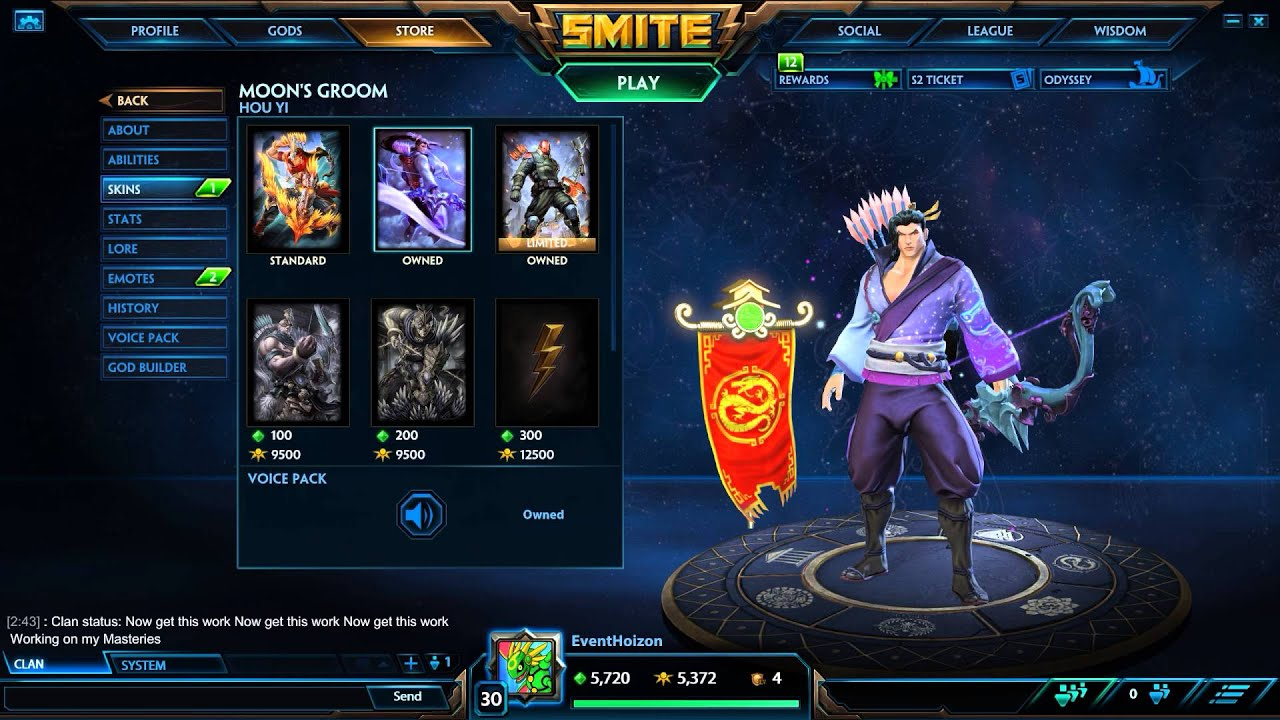 Smite-Season Ticket 2015-Buying All The Things! Almost