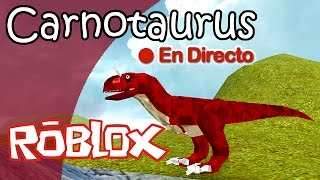 CARNOTAURUS ? Dinosaur Simulator (Roblox) DIRECT Gameplay English