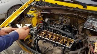 видео Регулировка клапанов двигателя Renault Logan своими руками