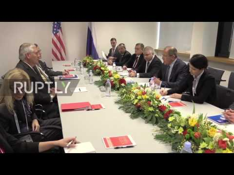 Germany: Lavrov meets US Secretary of State Tillerson on sidelines of G20