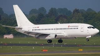 The legendary Boeing 737-200 Classic - Aviogenex - Landing and Departure ( HD )